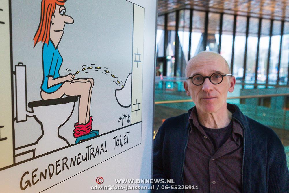 NLD/Hilversum/20190207- Winnaar Inktspotprijs 2019 - Djanko, pseudoniem van Herman Jan Couwenberg,