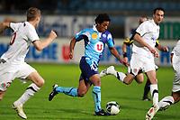 FOOTBALL - FRENCH CHAMPIONSHIP 2010/2011 - L2 - LE HAVRE AC v CS SEDAN - 15/10/2010 - PHOTO ERIC BRETAGNON / DPPI - MENDES (HAC)