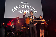 Esquire Best Geklede Man van 2019 in Hotel Arena, Amsterdam<br /> <br /> Op de foto: Son Mieux - Camiel Meiresonne , Timo Prins , <br /> Chayenne van der Kooij , Maud Akkermans , Thijs van Teijlingen , Quinten Meiresonne