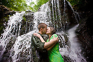 Lauren Fuller & Fred Frey are seen here in Patapsco State Park on May 15, 2010. In many frames they are joined by their dog, Westin. They will be married in July of this year.