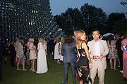 ZAHIA DEHAR; STEPHANE RUFFIER-MERAY, 2016 SERPENTINE SUMMER FUNDRAISER PARTY CO-HOSTED BY TOMMY HILFIGER. Serpentine Pavilion, Designed by Bjarke Ingels (BIG), Kensington Gardens. London. 6 July 2016