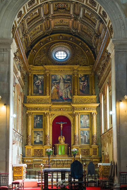 Mercy's Church - Igreja da Misericordia, ornate 17th Century Grade II monument of public interest in Aveiro, Portugal