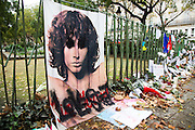 People gather to pay there respects in Paris<br /> ©Exclusivepix Media