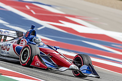 March 22, 2019 - Austin, Texas, U.S. - TONY KANAAN (14) of Brazil goes through the turns during practice for the INDYCAR Classic at Circuit Of The Americas in Austin, Texas. (Credit Image: © Walter G Arce Sr Asp Inc/ASP)
