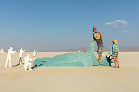Freedom Killed Lady Liberty by: Sy Van Tran and Houston Burners from: Houston, TX year: 2018 My Burning Man 2018 Photos:<br />