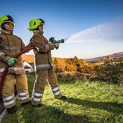 Lochaline Fire Shed, on the Morvern Peninsula.