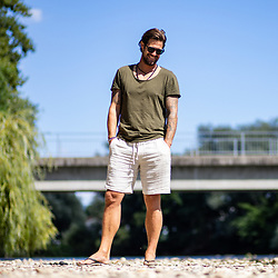 20210806: SLO, People - Portrait of Janez Zavrl - ex football player