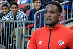 September 3, 2017 - Toronto, Canada - Cyle Larin (CAN) before the Canada-Jamaica Men's International Friendly match at BMO Field in Toronto, Canada, on 2 September 2017. (Credit Image: © Anatoliy Cherkasov/NurPhoto via ZUMA Press)