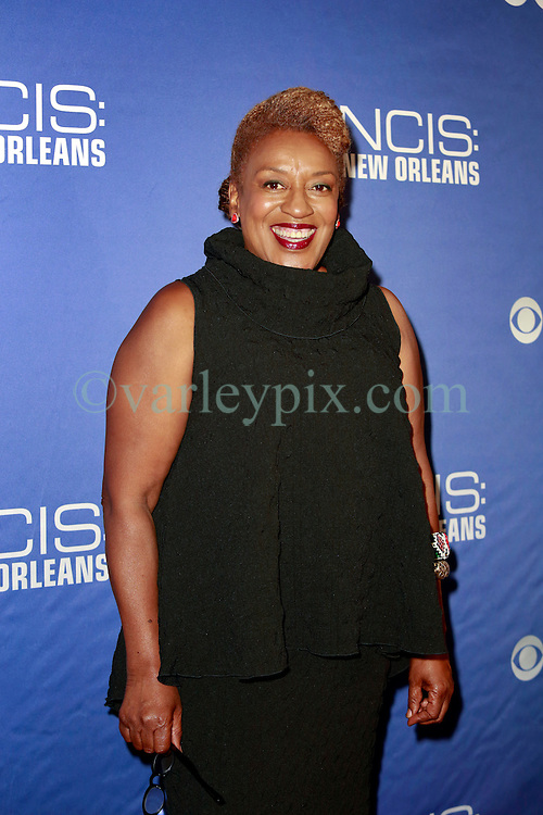 """17 September 2014. New Orleans, Louisiana.<br /> NCIS New Orleans. CBS Red carpet event at the WW2 Museum.<br /> Actor CCH Pounder - """"Dr Loretta Wade.""""<br /> Photo Credit; Charlie Varley/varleypix.com"""