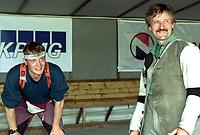 Skyting. Landsskytterstevnet 2000 Elverum. Artur Kårstad, Osterøy, (t.h.) og Rune Solberg, Nordre Land, (t.v.).