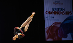 Lana Chilton from Newcastle Gymnastics Club during the Gymnastics British Championships 2019 at the M&S Bank Arena, Liverpool.