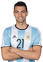 Football Conmebol_Concacaf - <br />Copa America Centenario Usa 2016 - <br />Argentina National Team - Group D -<br />Javier Pastore