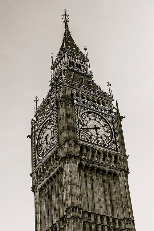 Big Ben is the nickname for the Great Bell of the clock at the north end of the Palace of Westminster in London, England.  The clock tower is officially known as Elizabeth Tower to honor the Diamond Jubilee of Elizabeth II.