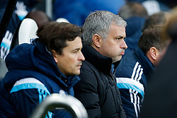 Manager Jose Mourinho of Chelsea looks on - Photo mandatory by-line: Rogan Thomson/JMP - 07966 386802 -06/12/2014 - SPORT - FOOTBALL - Newcastle, England - St James' Park - Newcastle United v Chelsea - Barclays Premier League.