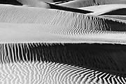 Dune Ridges, Mesquite Flat Sand Dunes, Death Valley National Park, <br /> California  2008