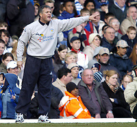 Photo: Richard Lane.Digitalsport<br /> Birmingham City v Leicester City. FA Barclaycard Premiership. 13/03/2004.<br /> Leicester manager, Micky Adams gives out the orders.