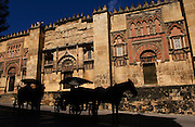 """Cordoba's Mosque-Cathedral or """"Mesquita"""" is the grandest and most exquisite the Moors ever constructed in Spain."""