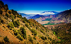 The high Atlas mountains, Morocco, North Africa<br /> <br /> (c) Andrew Wilson | Edinburgh Elite media