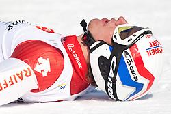 12.03.2010, Kandahar Strecke Herren, Garmisch Partenkirchen, GER, FIS Worldcup Alpin Ski, Garmisch, Men Giant Slalom, im Bild Janka Carlo, ( SUI, #5 ), Ski Atomic jubelt über den Weltcupgesamtsieg, EXPA Pictures © 2010, PhotoCredit: EXPA/ J. Groder / SPORTIDA PHOTO AGENCY