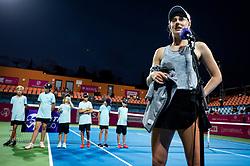 PORTOROZ, SLOVENIA - SEPTEMBER 17:   Alison Riske of USA after winning at quarterfinal match of the WTA 250 Zavarovalnica Sava Portoroz at SRC Marina, on September 17, 2021 in Portoroz / Portorose, Slovenia. Photo by Vid Ponikvar / Sportida