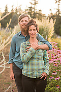 Brian Campbell and Crystine Goldbert, owners of Uprising Seeds in Bellingham, WA.