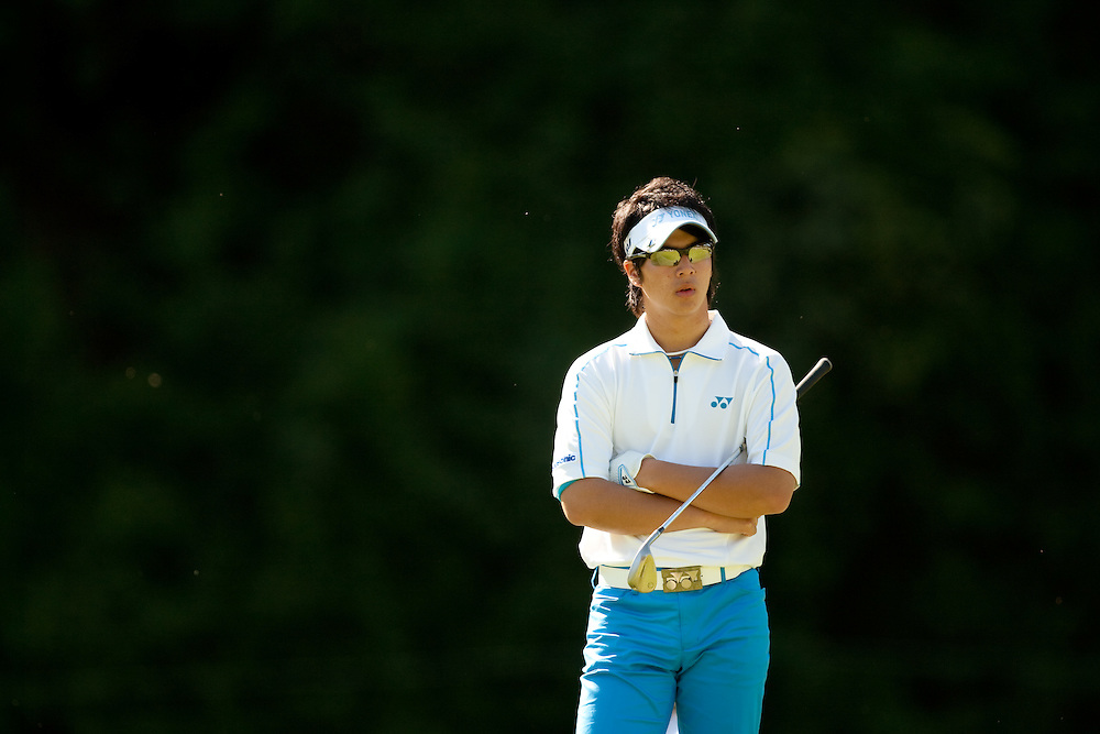 PACIFIC PALISADES, CA - FEBRUARY 19:  Ryo Ishikawa is shown during the first round of the 2009 Northern Trust Open at Riviera Country Club in Pacific Palisades, California on Thursday, February 19, 2009. (Photograph by 2009 Darren Carroll)  *** Local Caption *** Ryo Ishikawa