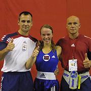 2. WOMEN'S WORLD BOXING CHAMPIONSHIPS.<br /> Norway's Kitel Henrite semi final  winner. Dilek Sabanci Sport Hall Antalya/Turkey<br /> Photo by Aykut AKICI/TurkSporFoto