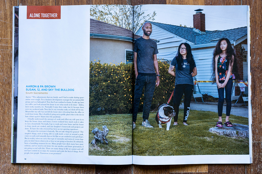 SacTown Magazine July/August 2020 issue. http://www.sactownmag.com/July-August-2020/Alone-Together/