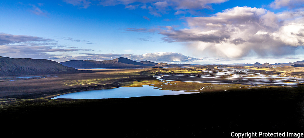 The river Tungnaá in the highlands of south Iceland