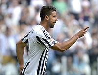 Esultanza Sami Khedira Juventus dopo gol 1-0, goal celebration,<br /> Torino 17-04-2016, Juventus Stadium, Football Calcio 2015/2016 Serie A, Juventus - Palermo, Foto Filippo Alfero/Insidefoto