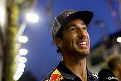 September 13, 2018 - Singapore, Singapore - #3 Daniel Ricciardo (AUS, Aston Martin Red Bull Racing). Motorsports: FIA Formula One World Championship 2018, Grand Prix of Singapore. (Credit Image: © Hoch Zwei via ZUMA Wire)