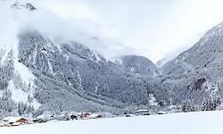 THEMENBILD - das Dorf Krimml mit seinen Wasserfällen, aufgenommen am 12. November 2016, Krimml, Österreich // The village of Krimml with the waterfalls, Krimml, Austria on 2016/11/12. EXPA Pictures © 2016, PhotoCredit: EXPA/ JFK