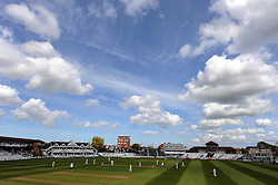 General view of Day Three at The County Ground, Taunton. - Photo mandatory by-line: Harry Trump/JMP - Mobile: 07966 386802 - 28/04/15 - SPORT - CRICKET - LVCC Division One - County Championship - Somerset v Middlesex - Day 3 - The County Ground, Taunton, England.