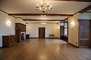 Ballroom, Pickwell Manor, Georgeham, North Devon, UK. CREDIT: Vanessa Berberian for The Wall Street Journal<br /> HOUSESHARE