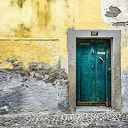 Doorway in Funchal Old Town, Madeira