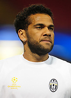 Daniel Alves of Juventus<br /> <br /> Photographer Kevin Barnes/CameraSport<br /> <br /> UEFA Champions League Final - Training session - Juventus v Real Madrid - Friday 2nd June 2017 - Principality Stadium - Cardiff<br />  <br /> World Copyright © 2017 CameraSport. All rights reserved. 43 Linden Ave. Countesthorpe. Leicester. England. LE8 5PG - Tel: +44 (0) 116 277 4147 - admin@camerasport.com - www.camerasport.com