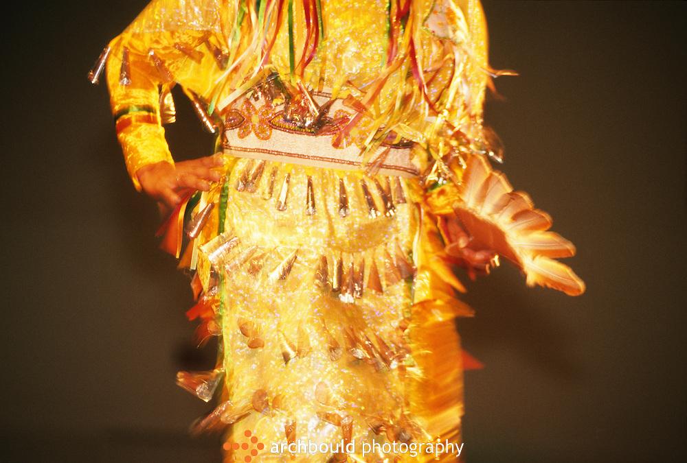 Yukon jingle dancer