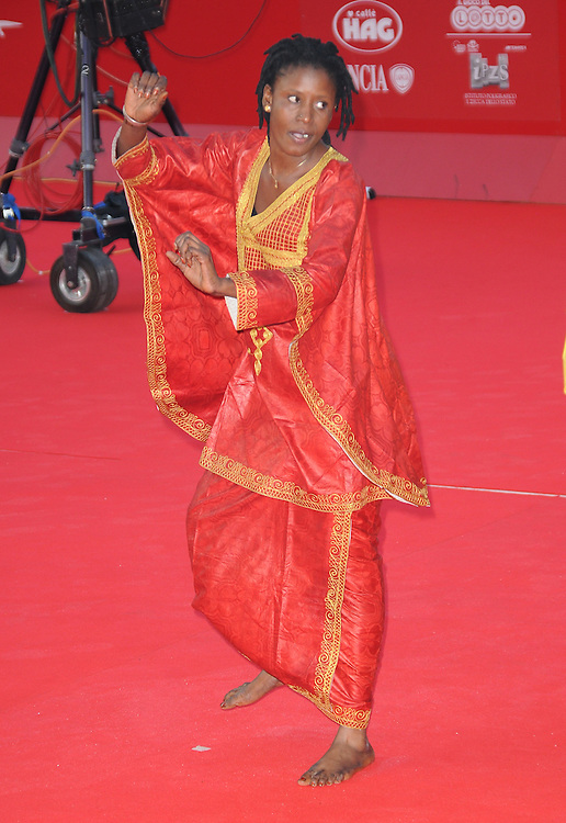 """at the premiere of """"African Women - A Journey for a Nobel Peace Prize"""" during the 6th International Rome Film Festival..{month name}28, 2011, Rome, Italy.Picture: Catchlight Media / Featureflash"""