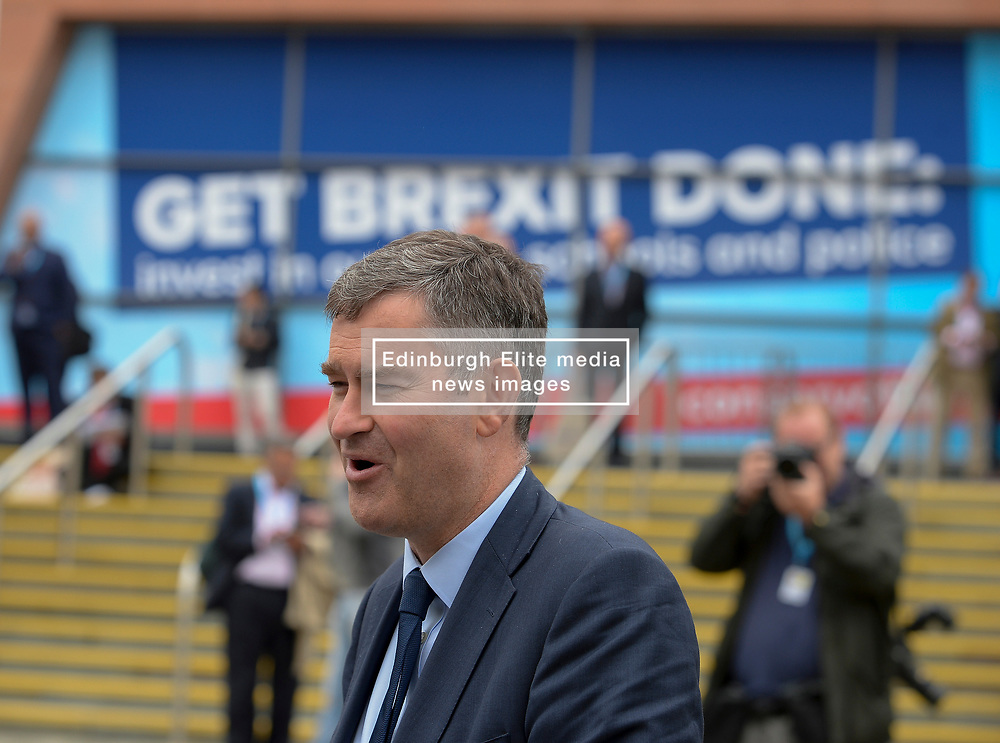 Rebel MP and former Conservative cabinet minister David Gauke at the Conservative Party conference in Manchester.<br /> <br /> © Dave Johnston / EEm
