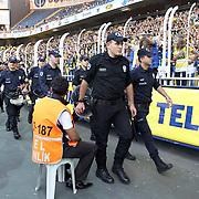 istanbul polices during their Turkish Superleague soccer derby match Fenerbahce between Besiktas at Sukru Saracaoglu stadium in Istanbul Turkey on Sunday 07 October 2012. Photo by TURKPIX