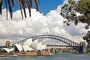 Sydney Opera House and Sydney Harbour Bridge, Australia