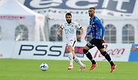 Fotball, 31. august 2019 , Eliteserien , Stabæk - Strømsgodset<br /> Mounir Hamoud , SIF<br /> Youssef Totouh ,