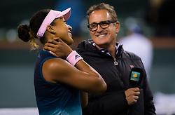 March 9, 2019 - Indian Wells, USA - Naomi Osaka of Japan after winning her second-round match at the 2019 BNP Paribas Open WTA Premier Mandatory tennis tournament (Credit Image: © AFP7 via ZUMA Wire)
