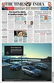March 11, 2021 (ASIA-PACIFIC): Front-page: Today's Newspapers In Asia-Pacific