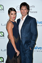 Nikki Reed and Ian Somerhalder attend the 26th Annual EMA Awards at Warner Bros. Studios on October 22, 2016 in Burbank, Los Angeles, CA, USA. Photo by Lionel Hahn/ABACAPRESS.COM