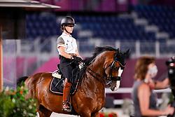 Pauluis Larissa, BEL, Flambeau<br /> Olympic Games Tokyo 2021<br /> © Hippo Foto - Dirk Caremans<br /> 22/07/2021