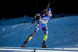 Simon Desthieux (FRA)  during Men 15 km Mass Start at day 4 of IBU Biathlon World Cup 2015/16 Pokljuka, on December 20, 2015 in Rudno polje, Pokljuka, Slovenia. Photo by Vid Ponikvar / Sportida