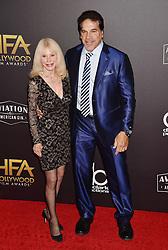 BEVERLY HILLS, CA - NOVEMBER 04: Sandy Powell arrives at the 22nd Annual Hollywood Film Awards at the Beverly Hilton Hotel on November 4, 2018 in Beverly Hills, California. 04 Nov 2018 Pictured: Carla Ferrigno, Lou Ferrigno. Photo credit: TM/ROT/Capital Pictures / MEGA TheMegaAgency.com +1 888 505 6342