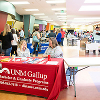 Approximately 120 teachers from Gallup McKinley County Schools attended new teacher orientation at John F. Kennedy Middle School, Wednesday, July 31 in Gallup.