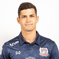THAILAND - JUNE 07: Cleiton Silva #23 of Suphan Buri FC on June 07, 2019.<br /> .<br /> .<br /> .<br /> (Photo by: Naratip Golf Srisupab/SEALs Sports Images/MB Media Solutions)